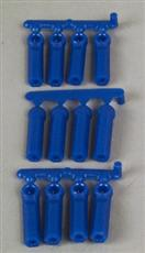 RPM Long Shank Rod Ends (12) Blue