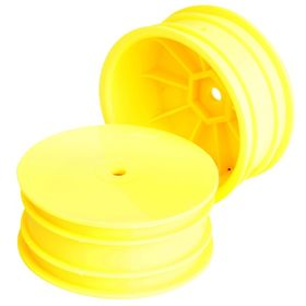 TeamC 1:10 4WD Buggy Front Rim - Yellow (2)