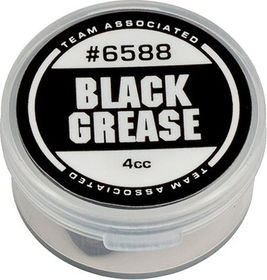 Team Associated Black Grease, 4cc