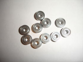 EuroRC 1/8x3/8x5/32 R2ZZ Ball Bearings (10)