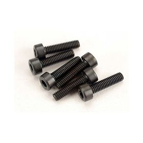 Traxxas 2.5x10mm Cap Head Machine Hex Screws (6)