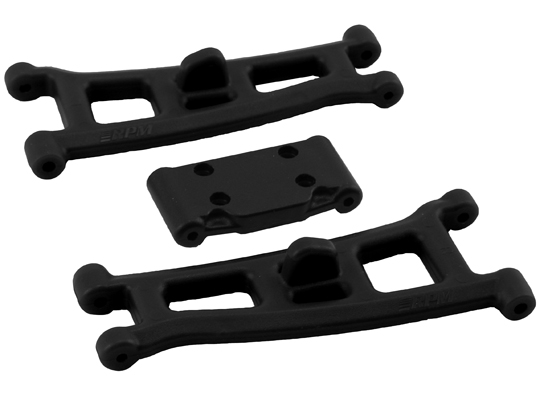 RPM Associated GT2, T4* & SC10* Front A-arms - Black