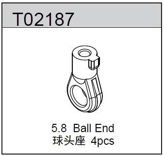 TeamC 5.8 Ball End - TM2