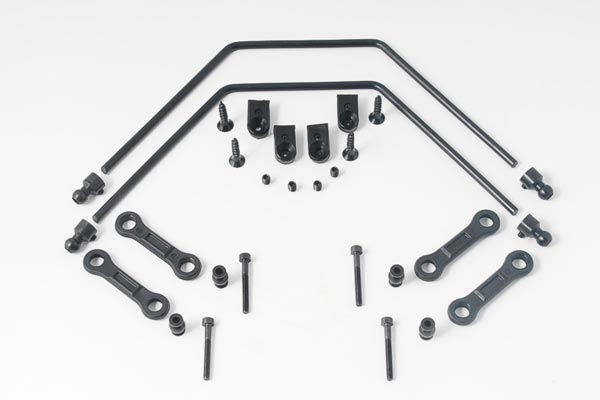 MCD Anti-Roll Bar Set 4mm Front/Rear Complete Rally X4