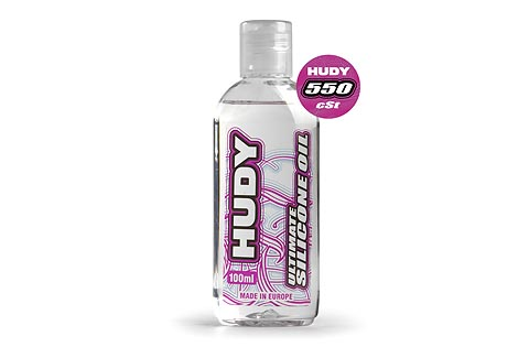 HUDY Ultimate Silicone Oil 100ml - 550 cst