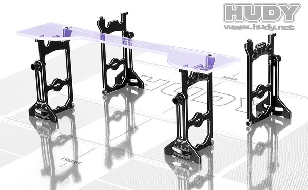 Hudy Universal Exclusive Set-Up System For 1:10 Off-Road Cars
