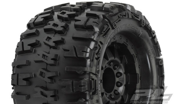 "Pro-Line Trencher X 3.8"" (Traxxas® Style Bead) All Terrain Tires Mounted (2)"