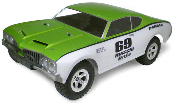 Parma 69 MUSCLE SC BAJA .040 Clear Body - Short Course