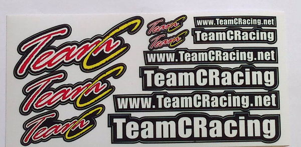TeamC Stickers (1 Sheet )