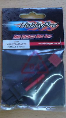 Hobbypro Male Traxxas To Female T-Plug
