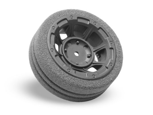 Jconcepts Hazard Radio Wheel - Dirt-Tech Foam Grip - M12