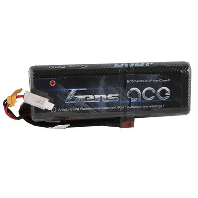 Gens Ace 4000mAh 25C 2S (7,4V) Hardcase LiPo Battery Pack