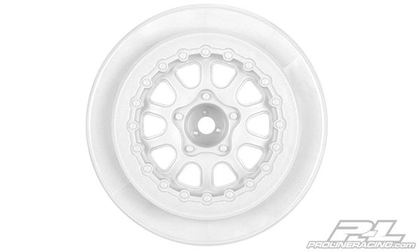 "Pro-Line Renegade 2.2""/3.0"" SC Wheels - White (2)"