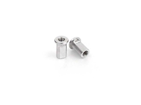 Xray Alu Nut For Susp. Pivot Pin (2)