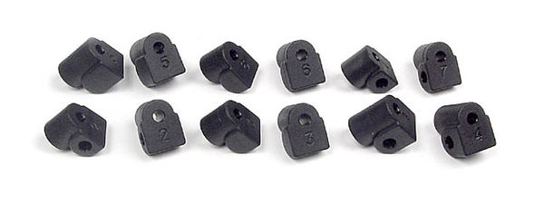 Xray Lower Suspension Holder Integrated ( Set 10)