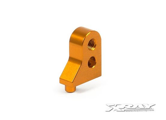 Xray T3 Alu Lower Suspension Holder - Orange