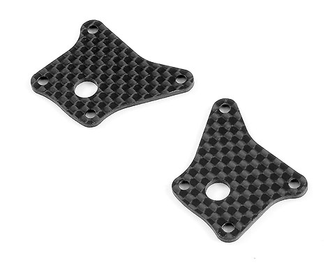 Xray Graphite Front Lower Arm Plate 1.6mm (L+R)