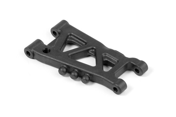 Xray Graphite Rear Susp. Arm 1-Hole