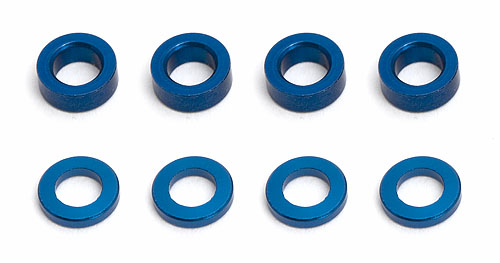 Team Associated FT Aluminum Ballstud Washer (8)