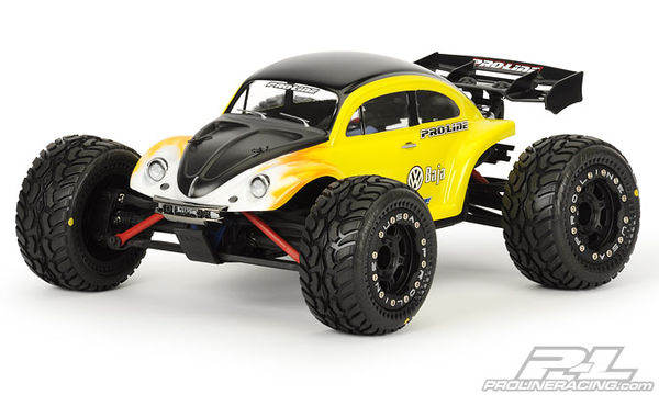 Pro-Line Volkswagen Baja Bug Clear Body For  1:16 E-Revo