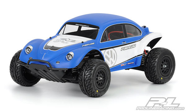 Pro-Line Volkswagen Full Fender Baja Bug Clear Body