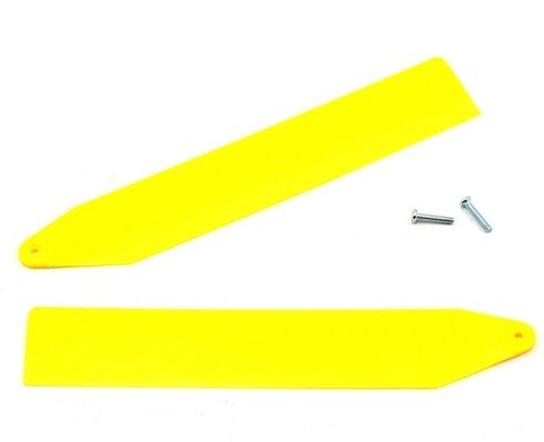 Blade Main Rotor Blade Set, Yellow - nCP X