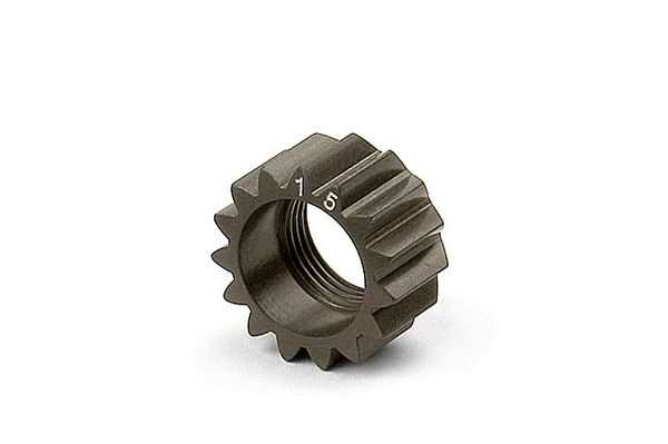Xray XCA Alu 7075 T6 Hardcoated Pinion Gear - 15T (1st)