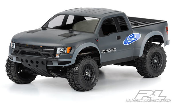 Pro-Line True Scale Ford F-150 Raptor SVT Body (Clear unpainted)