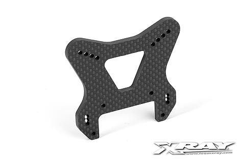 Xray XB9 Graphite Front Shock Tower - CNC Machined 4 mm