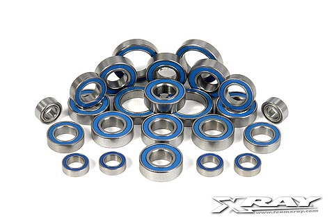 Xray Ball-Bearing Set - Rubber Covered For XB9 (24)