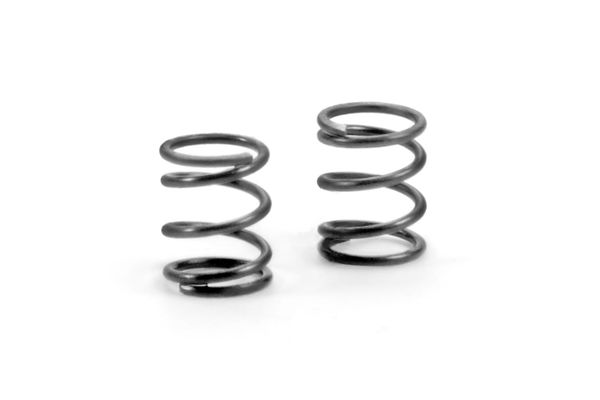 Xray Spring 4.25 Coils 3.6x6x0.5mm - C=3.0 - Grey (Soft) (2)