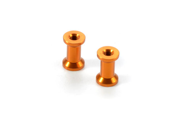 Xray X1 Alu Mount 10.8mm - Orange (2)