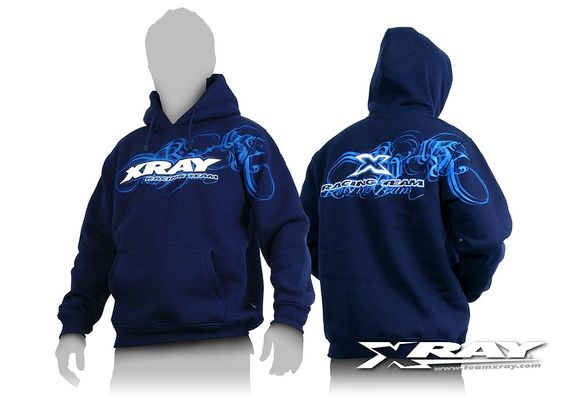 Xray Sweater Hooded - Blue (M)