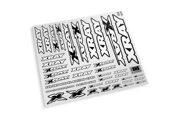 XRAY Sticker For Body - White