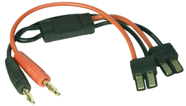 EuroRC Charging Cable Series Traxxas - 4mm