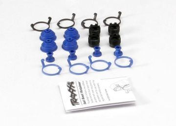 Traxxas Pivot Ball Caps & Dust Boots (4)