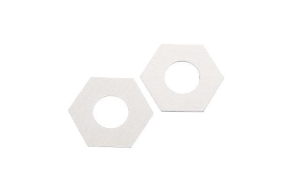 Axial Slipper Pad 32.8x15.2x1mm (Aluminum) (2pcs)