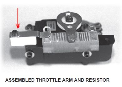 Team Associated Throttle By Pass Kit RC10