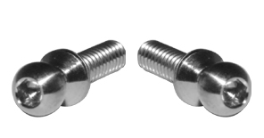 Lunsford 5.5mm x 3mm x 8mm Broached Ball Stud (2)