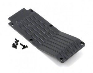 RPM T/E-Maxx Centre Skid Plate Black