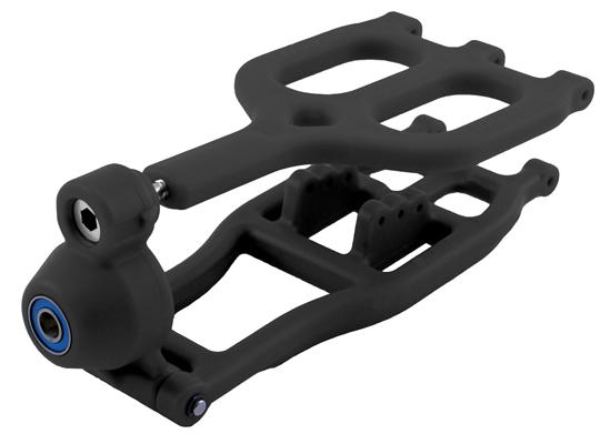 RPM Traxxas T/E-Maxx True-Track Rear A-arm Conversion - Black