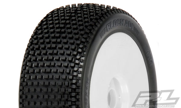 Pro-Line Blockade X2 (Medium) Off-Road 1:8 Buggy Tires Mounted (2)