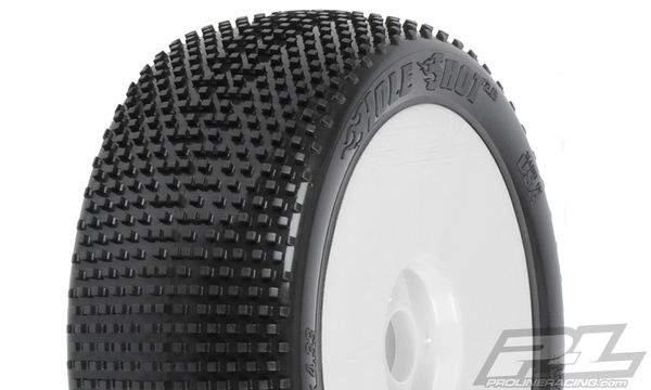 Pro-Line Hole Shot X2 (Medium) Off-Road 1:8 Buggy Tires Mounted (2)