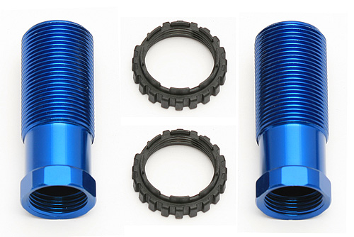 Team Associated 13 Shock Body 30mm - Blue For SC10 4x4 (2)