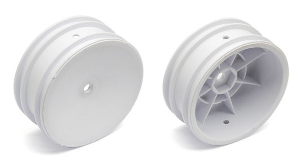 Team Associated 2WD Buggy Front Wheel Hex Type (White) (2)