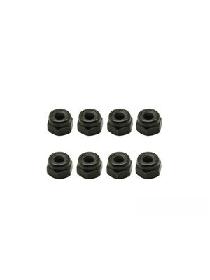 Arrowmax  Nylon Lock Nuts M3 (8)