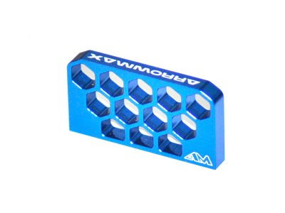 Arrowmax Aluminum Battery Stopper for Yokomo B-Max2