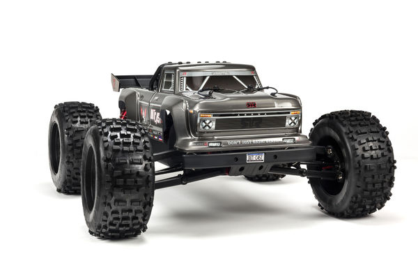 ARRMA Outcast 6S 4WD BLX Stunt Truck Silver 1:8 RTR