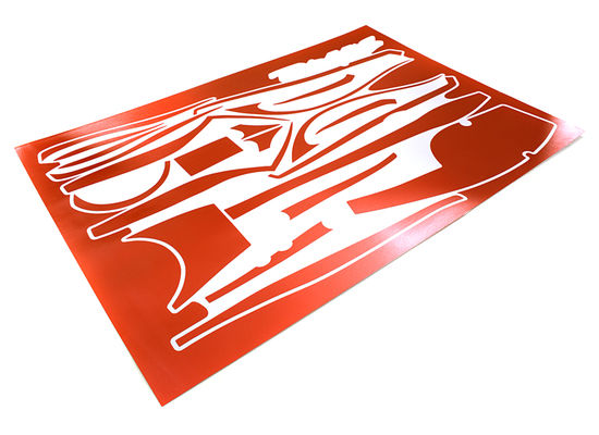 Integy Scratch Resistance Sticker Set Decal Fot Traxxas 6507R TQi 2.4Ghx 4Ch Controller