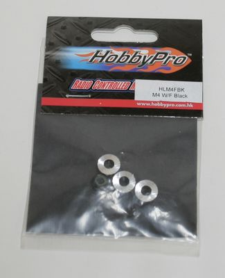 Hobbypro M4 Locknut With Flange - Pink (4)